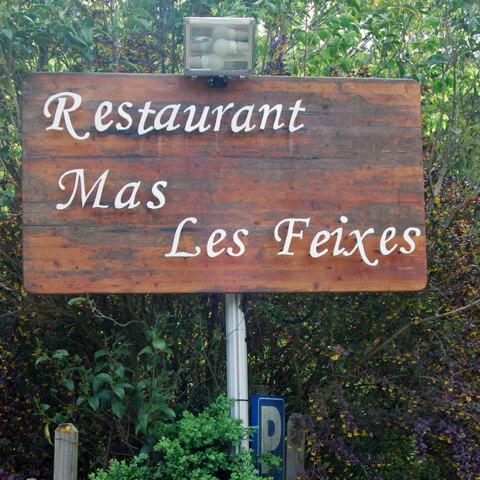 Com s'hi arriba al restaurant Mas Les Feixes